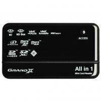 Считыватель флеш-карт Grand-X CRX05Black