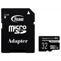 Карта памяти Team 32GB microSDHC class 10 UHS-I (TDUSDH32GUHS03)