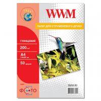 Бумага WWM A4 (G200.50)