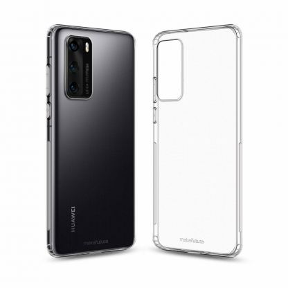 Чехол для моб. телефона MakeFuture Huawei P40 Air (Clear TPU) (MCA-HUP40)