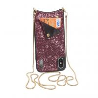 Чехол для моб. телефона BeCover Glitter Wallet Apple iPhone X/Xs Pink (703619) (703619)