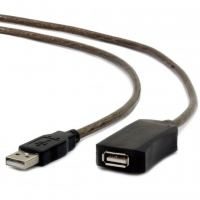 Дата кабель USB 2.0 AM/AF 10.0m активный Cablexpert (UAE-01-10M)