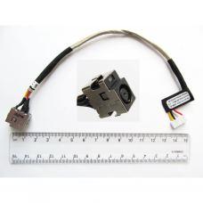 Разъем питания ноутбука с кабелем для HP PJ064 (7.4mm x 5.0mm + center pin), 5(4)-pi универсальный (A49032)