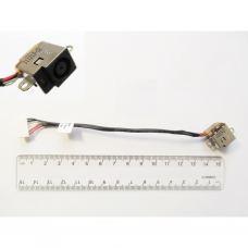 Разъем питания ноутбука с кабелем для HP PJ362 (7.4mm x 5.0mm + center pin), 7-pin, универсальный (A49055)