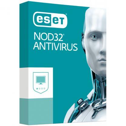 Антивирус ESET NOD32 Antivirus для 4 ПК, лицензия на 3year (16_4_3)