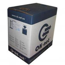 Кабель сетевой OK-Net UTP cat.5e 305м (U/UTP-cat.5Е) (КПВ-ВП (350) 4*2*0,50)
