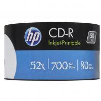 Диск CD HP CD-R 700MB 52X IJ PRINT 50шт Spindle (69312)