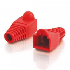 Колпачок коннектора RJ-45 Red (100 шт/уп.) Merlion (CPRJ45ML-RD)