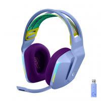Наушники Logitech G733 Lightspeed Wireless RGB Gaming Headset Lilac (981-000890)