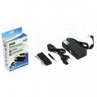 Блок питания к ноутбуку Merlion 120W Universal, ручн. регулювання, 8 роз'ємів, 1*USB 5V/2.4A (YT-UPS120W)