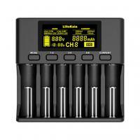 Зарядное устройство для аккумуляторов Liitokala 6 Slots, LCD дисплей, Li-ion/Ni-MH/Ni-Cd/AA/ААA/AAAA/С (Lii-S6)